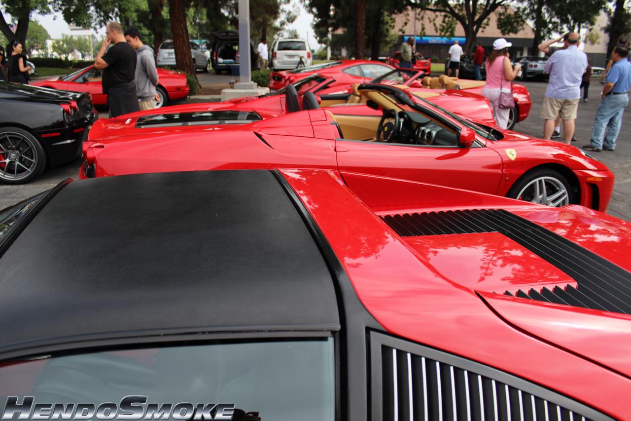 HendoSmoke - SuperCar Sunday - Ferrari 2013-121