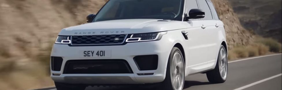 Range Rover is changing..